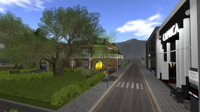 Caprica Grid parks and gardens