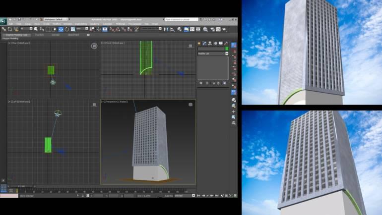 New exclusive skyscraper for Caprica City